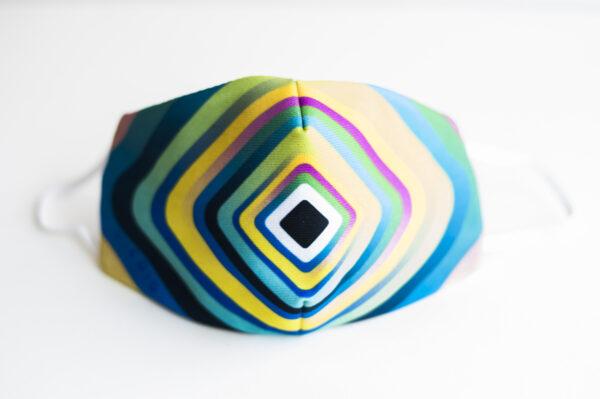 cubre mascarilla rayas colores pastel 00