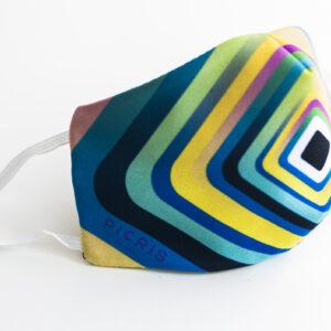 cubre mascarilla rayas colores pastel 01