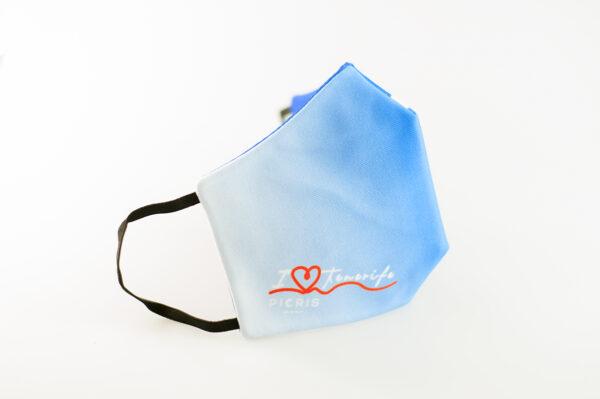 mascarilla picrisoriginal i love tenerife azul blanco elastico negro filtro tnt 01