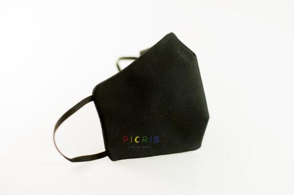 mascarilla picrisoriginal orgullo alas diseno propio elastico negro filtro tnt 01