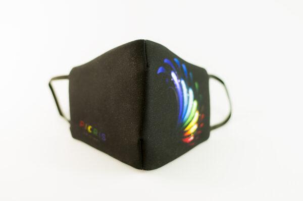mascarilla picrisoriginal orgullo alas diseno propio elastico negro filtro tnt 02
