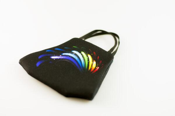mascarilla picrisoriginal orgullo alas diseno propio elastico negro filtro tnt 03
