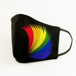 mascarilla picrisoriginal orgullo alas elastico negro filtro tnt 00