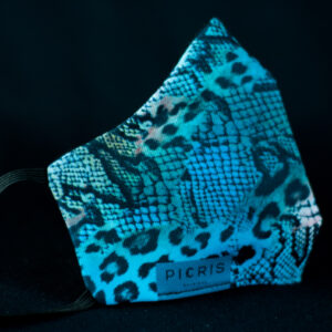 mascarilla higienica animal print azo serpiente leopardo 01